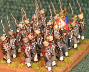 15mm, Napoleonic French Line Campaign Dress AB 24 Figures